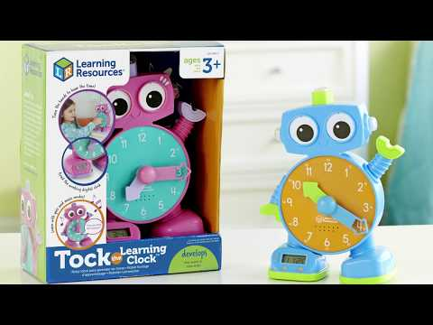 Youtube Video for Tock the Learning Clock - Tell the time