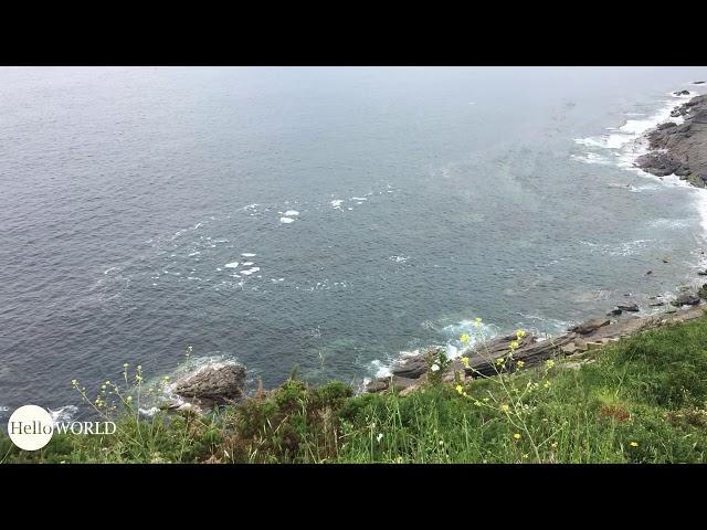 Aussichten auf dem spanischen Küstenweg
