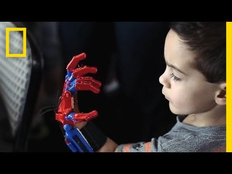 How 3-D-Printed Prosthetic Hands Are Changing These Kids' Lives | Short Film