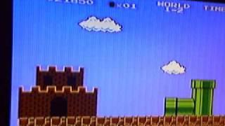 Nes: Super Mario bros (bloopers/ gameplay)