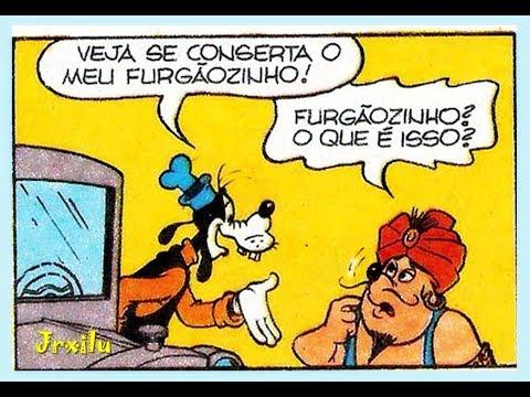 Pateta - Um gênio em apuros - gibis Quadrinhos Disney