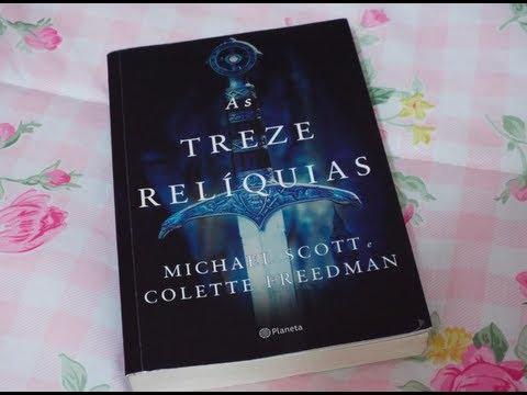 Resenha Livro As treze relíquias