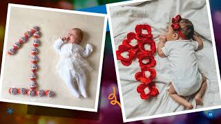 Baby Photo Shoot Ideas| First Month | 1st Month | Latest Baby Photo Shoot Ideas