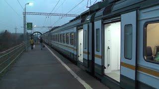 Электропоезд ЭД4М-0460 ЦППК платформа Сушкинская