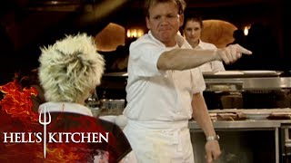 Kitchen RUNS OUT OF BEEF | Hell's Kitchen