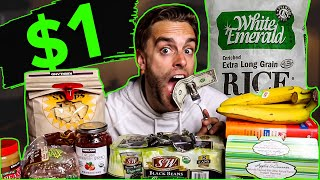 How I Live On $1 MEALS! | Frugal Meals That Cost $3 A Day