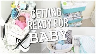 HOW TO PREPARE FOR A NEWBORN BABY || NEWBORN ESSENTIALS || BETHANY FONTAINE