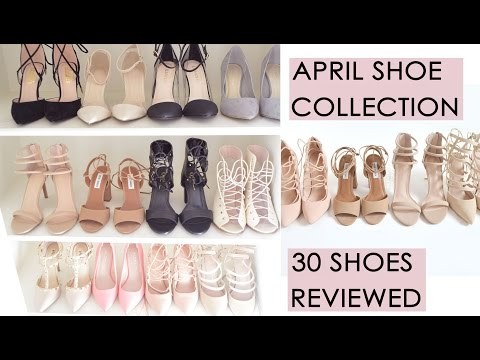 My Shoe Collection // 30 Shoes // Full review of each