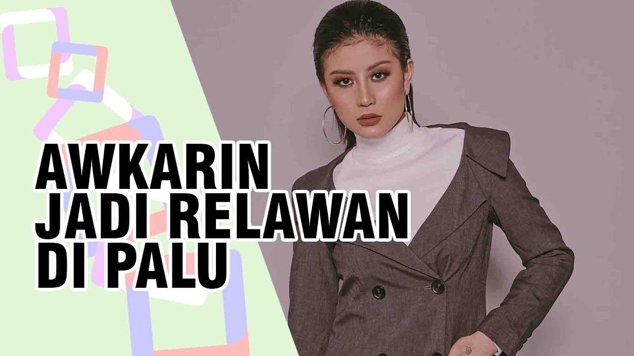 Usai Kabarkan Tutup Akun Instagram-nya, Beredar Foto Awkarin Jadi Relawan di Palu