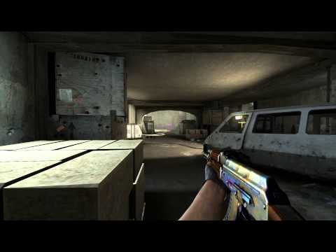 Case Hardened AK47 Game Play Video