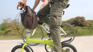 "Fast speedy bike-Up to 35 miles/hr NEW invention~14"" folding bike faster than Electronic Bike"