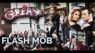 Grease Flash Mob på Kverneriet
