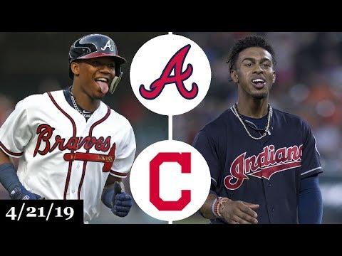 Atlanta Braves vs Cleveland Indians Highlights | April 21, 2019