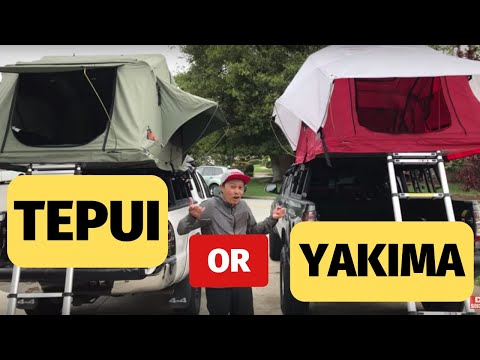 Tepui vs. Yakima Tent Review