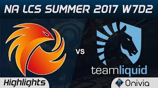 P1 vs TL Highlights Game 1 NA LCS Summer 2017 Phoenix1 vs Team Liquid by Onivia