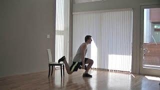 20 Min Home Leg Workout - HASfit Leg Exercise Workouts - Legs Exercises Routine by HASfit