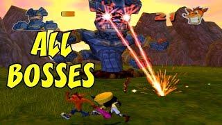 Crash Twinsanity - All Bosses (No Damage)