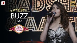 Gambar cover Buzz - Live @ Amazon Great Indian Festival | Aastha | Badshah