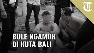 Viral Video Bule Ngamuk di Jalanan Kuta Bali
