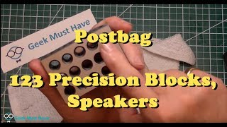 What the hell is a 123 Precision Block? ,  Speakers  PostBag GMH-017