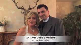 Mr & Mrs Dabb's Wedding