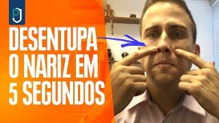 Desentupir O Nariz Em 5 SEGUNDOS? É Possível? | Dr Juliano Pimentel