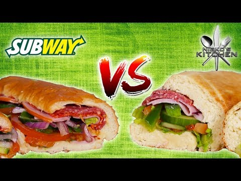 SUBWAY vs HOMEMADE - Size DOES Matter! 12 inch Scandal?