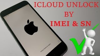 How to remove icloud activation lock with imei and serial number