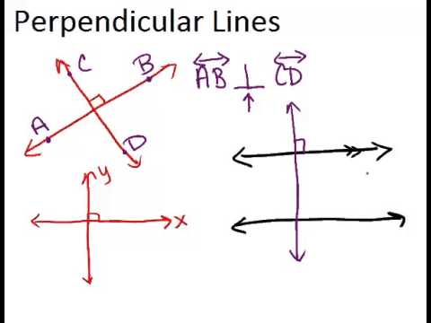 Perpendicular Lines ( Read ) | Geometry | CK-12 Foundation