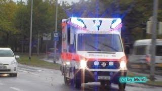 preview picture of video 'RTW (TIGIS) JUH/DRK Hannover (Zusammenschnitt) (HD)'