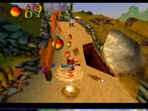 Gameplay de Crash Bandicoot: Gold Edition