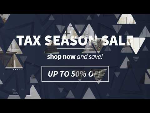Tax Season Sale 2020