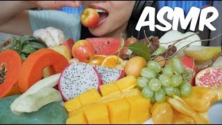 ASMR Exotic Fruit Platter (Different Texture EATING SOUNDS) No Talking | SAS-ASMR
