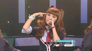 【TVPP】4MINUTE- What A Girl Wants, 포미닛 - 왓 어 걸 원츠 @ Music Core Live