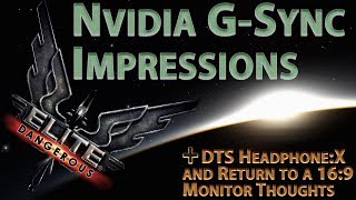 Elite Dangerous ~ Space in 140 FPS with Nvidia G-Sync