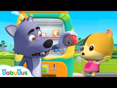 Bad Wolf's Cola is Empty | Nursery Rhymes | Kids Safety Tips | Baby Cartoon | BabyBus