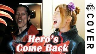 NARUTO SHIPPUDEN OP1 - Hero's Come Back┃Cover By Raon Lee X PelleK