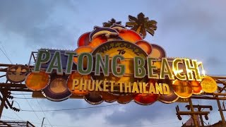 preview picture of video 'Patong Bangla road Phuket 2015'