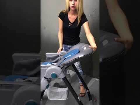 Видеообзор детского стульчика для кормления Teknum