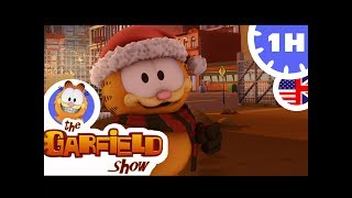 THE GARFIELD SHOW   1 Hour   Winter Christmas Compilation