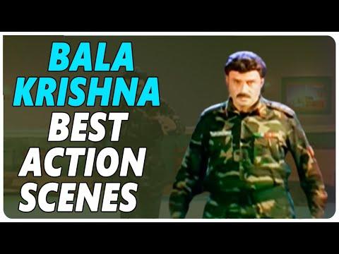 Balakrishna Best Action Scenes    Back To Back  Best Telugu Movies     Shalimarcinema