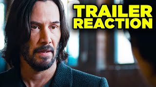 Matrix Resurrections Trailer REACTION! Neo Return Explained!