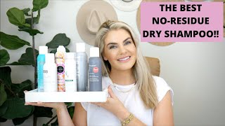 THE BEST NO-RESIDUE DRY SHAMPOOS