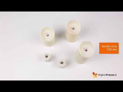 Candele a led Smtyle YBL 1-6 Video Recensione