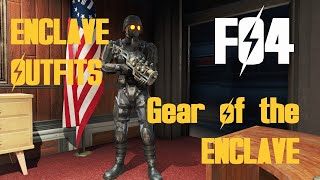 NEW FO4 ENCLAVE OUTFITS MOD ''America Rising - Gear of the Enclave'' by Otellino