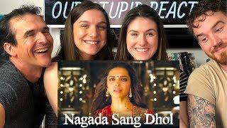 Nagada Sang Dhol | Goliyon Ki Raasleela Ram Leela | Deepika Padukone, Ranveer Singh REACTION