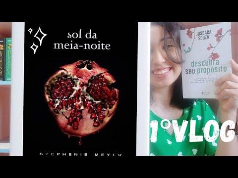 1º Vlog: Lendo Sol da Meia-Noite � e Descubra seu propósito I Sonho de Biblioteca