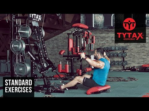 Cable Seated Y Raise   TYTAX® M2