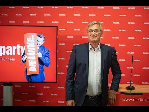 Bernd Riexinger: Ein grandioser Wahlerfolg in Thüringen!