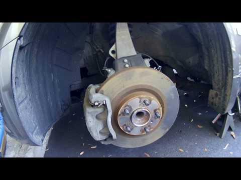 Infiniti M35 Front Hub Bearing  & Brake Rotor Replace